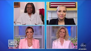 Meghan McCain Thanks Everyone For The Kind Wishes Since Announcing Pregnancy | The View