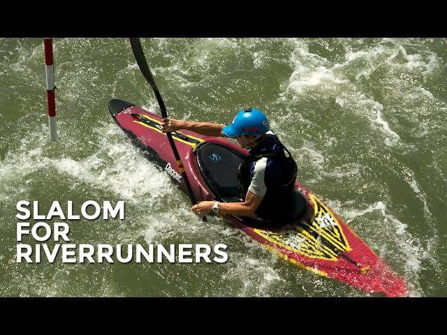 Make your own slalom course