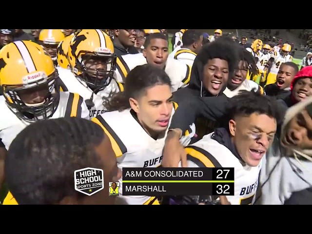 FB Marshall vs A&M Consolidated