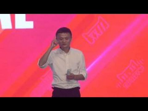 Jack Ma Talks about the Outlook for Consumer Spending in China at 2015 11.11 Launch Event