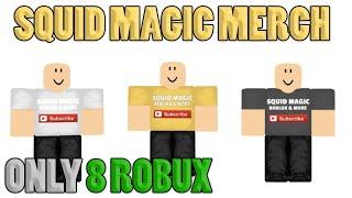 NEW SQUID MAGIC MERCH!! Comes in Yellow, Black & White | ROBLOX