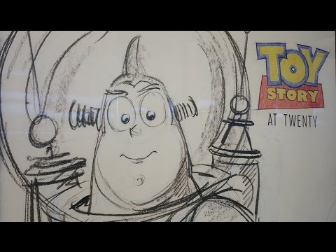 Toy Story at Twenty - Making of Toy Story - Toy Story concept art - Pixar Behind the scenes
