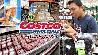 Đi ăn đồ MIỄN PHÍ ở chợ BÁN SỈ CHẤT LƯỢNG CAO ở Mỹ - COSTCO WHOLESALE