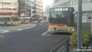 神奈川中央交通東 大和営業所  三菱ふそう 新型エアロスター ノンステップバス  (や31号車) 中山駅北口にて、