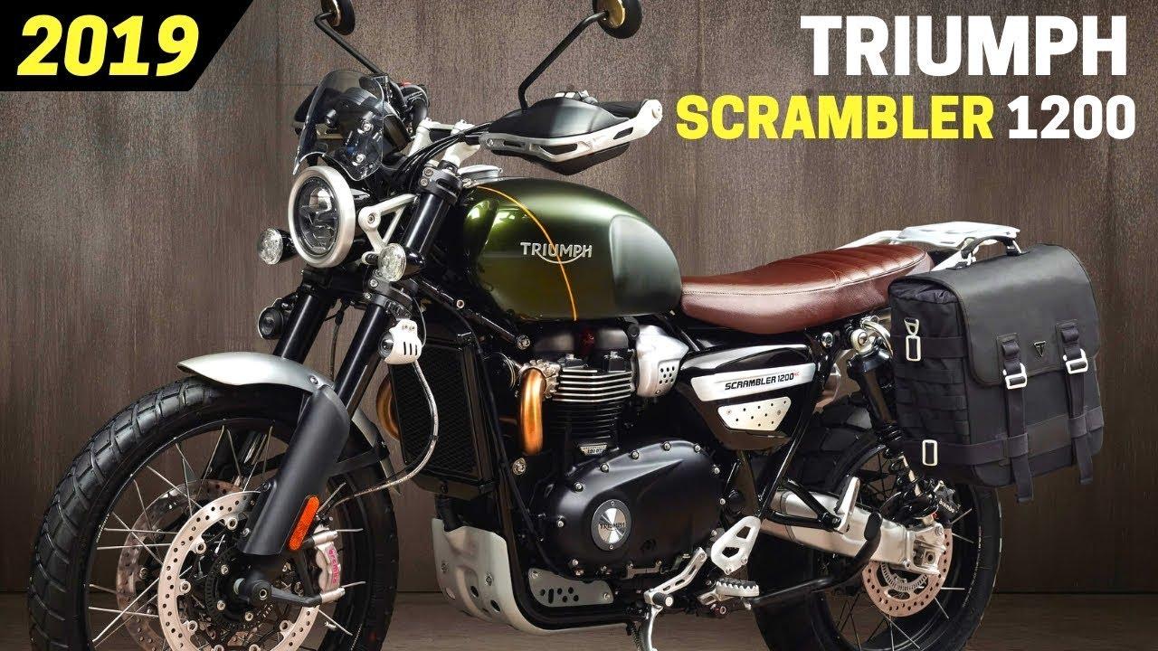 New 2019 Triumph Scrambler 1200 Xe And Scrambler 1200 Xc Awesome