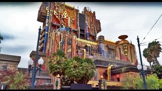 Guardians of the Galaxy - Mission: BREAKOUT! fully revealed, construction walls down at Disneyland