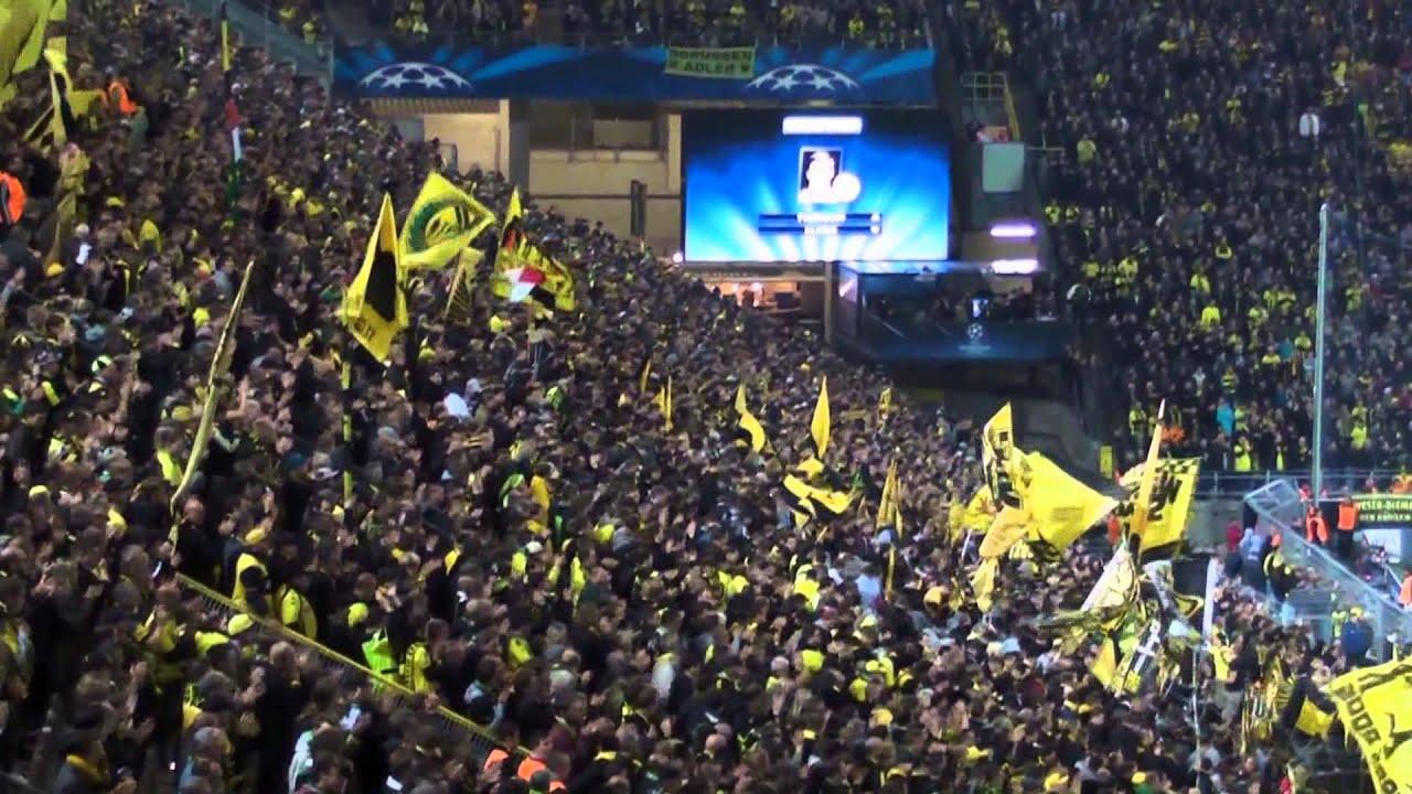Stimmung Südtribüne: Borussia Dortmund - Olympique Marseille (3:0) BVB Atmosphere