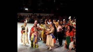 GATHERING OF NATIONS POW WOW 2019   Day 2 : Miss Indian World 2019 Cheyenne Kippenberger