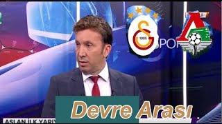 DEVRE ARASI Galatasaray 1-0 Lokomotif moskova yorumu