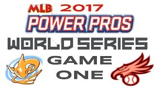 MLB Power Pros WORLD SERIES - Game 1