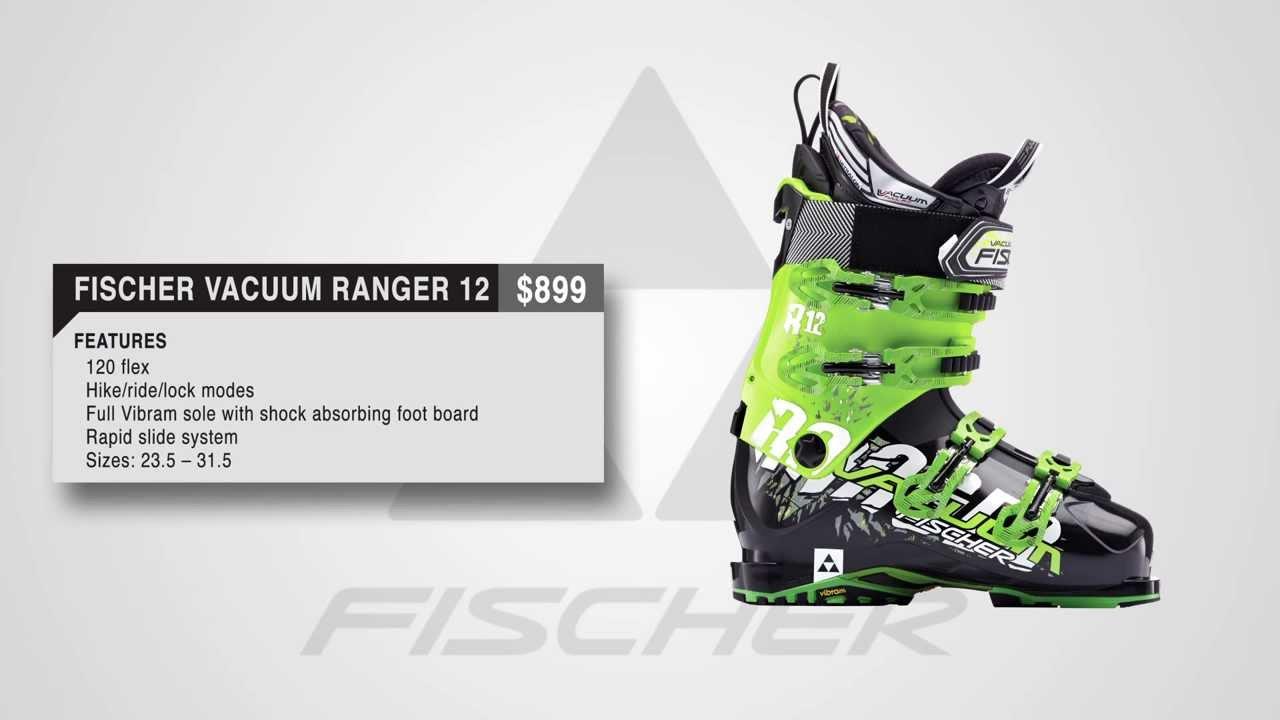 c20faaf8 Fischer Vacuum Ranger 12 Ski Boot - 2014 - YouTube