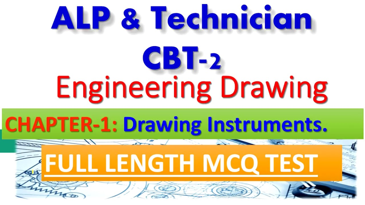 Engineering Drawing For Alp Cbt2 Chapter Drawing Instruments Full
