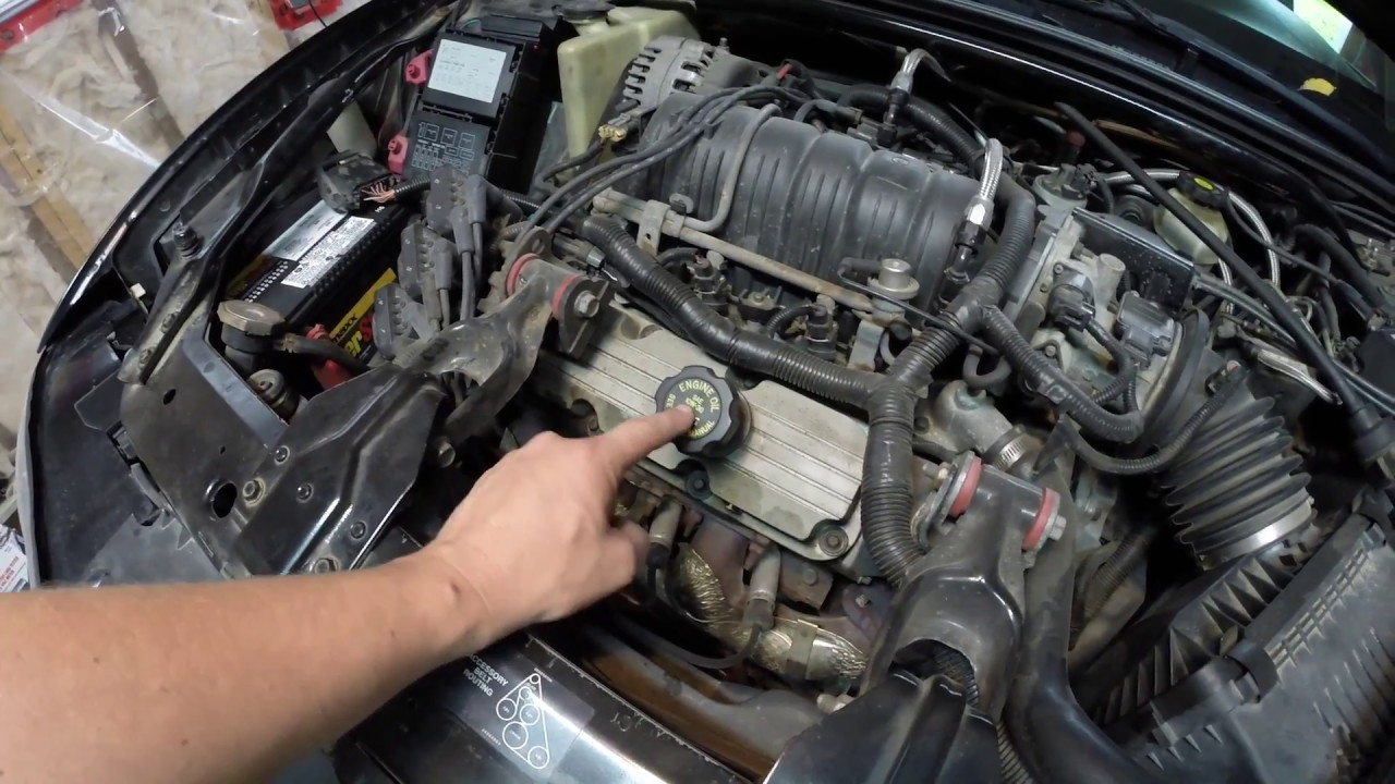How To Change Engine Oil Grand Prix Monte Carlo Impala Regal Youtube 03 Mustang Fuel Filter Location