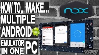 how to install multiple android emulator in 1 PC-better than bluestacks