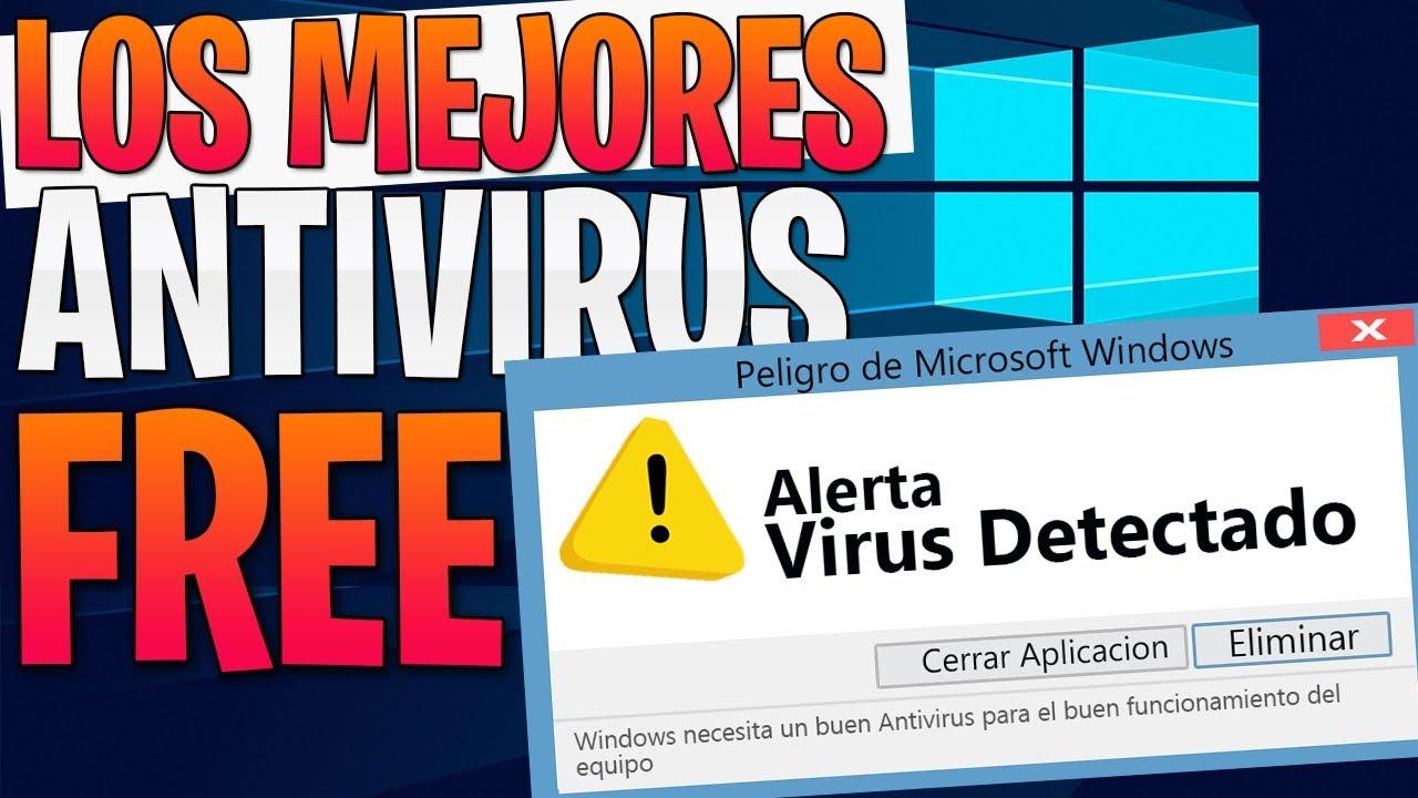 mejor antivirus gratuito pc