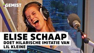 Actrice Elise Schaap doet imitaties en deelt gênante verhalen! | 538 Gemist