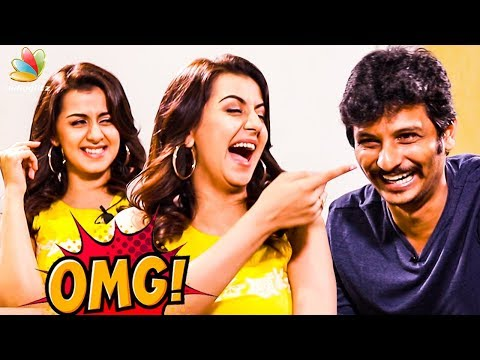 LOL😂Ithu Antha Kaalathu IAMK : Jiiva & Nikki Galrani Hilarious Interview | School Alaparaigal | Kee
