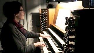 Benny Andersson: Tröstevisa  -  Barbro Daun Schelin, orgel