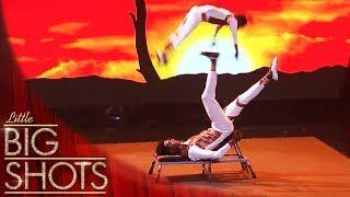 Meet Amazing Circus Performer Aberham   Little Big Shots