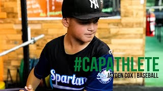 CAPAthlete: BASEBALL | Jayden Cox, Baseball Athlete