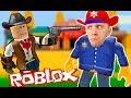 КОВБОИ против ПОЛИЦЕЙСКИХ Шерифов в Roblox кто сильнее Челлендж Вызов от игрового канала FFGTV