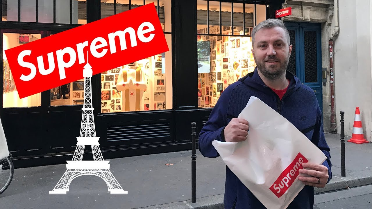Easy Cop at Supreme in Paris (France Part 2) - YouTube 435545e248b4