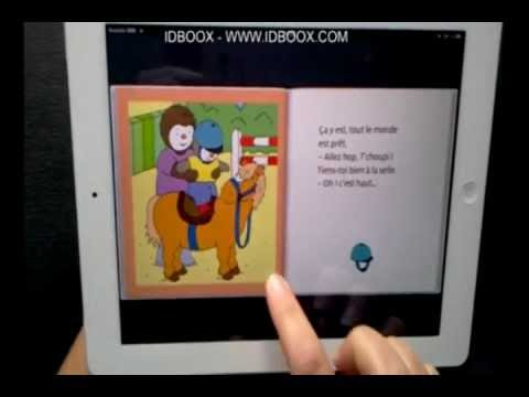 tchoupi fait du poney ipad ebook enfant idboox youtube. Black Bedroom Furniture Sets. Home Design Ideas