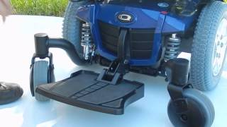 Pride Quantum Q6 Edge Electric Wheelchair (Blue) Marc's Mobility