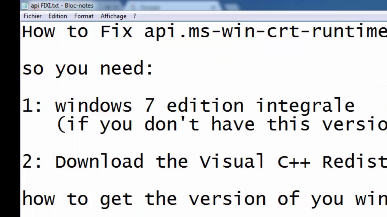api ms win crt runtime l1 1 0 dll download