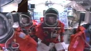Space Shuttle Launch Cockpit Video STS 118 Endeavour