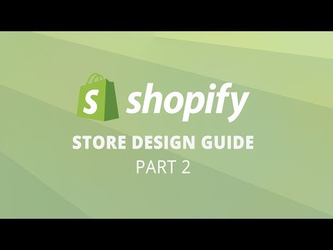 2019 How Design Shopify Store complete Tutorial Part 2 thumbnail