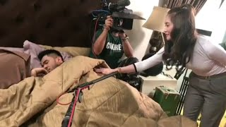 Video Redza Rosli terkejut beruk bila Ayda Jebat yang kejut dia tengah tido download MP3, 3GP, MP4, WEBM, AVI, FLV November 2018
