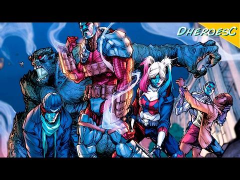 [ФИНАЛ ] ЛИГА СПРАВЕДЛИВОСТИ ПРОТИВ ОТРЯДА САМОУБИЙЦ #5. DC COMICS.