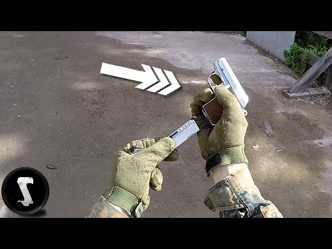 Humiliating Airsoft Players with Tiny Noob Gun