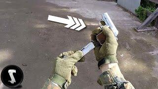 Humiliating Airsoft Players with Tiny Noob Gun