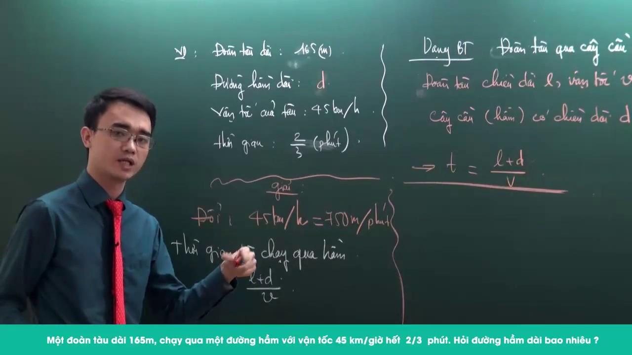 Ôn thi vào lớp 6 môn Toán – Luyện kĩ năng giải đề thi số 1- Thầy Nguyễn Thành Long