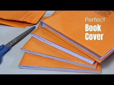 DIY: Brown Paper Covering | Perfect Book Cover | Learn to cover your school book properly