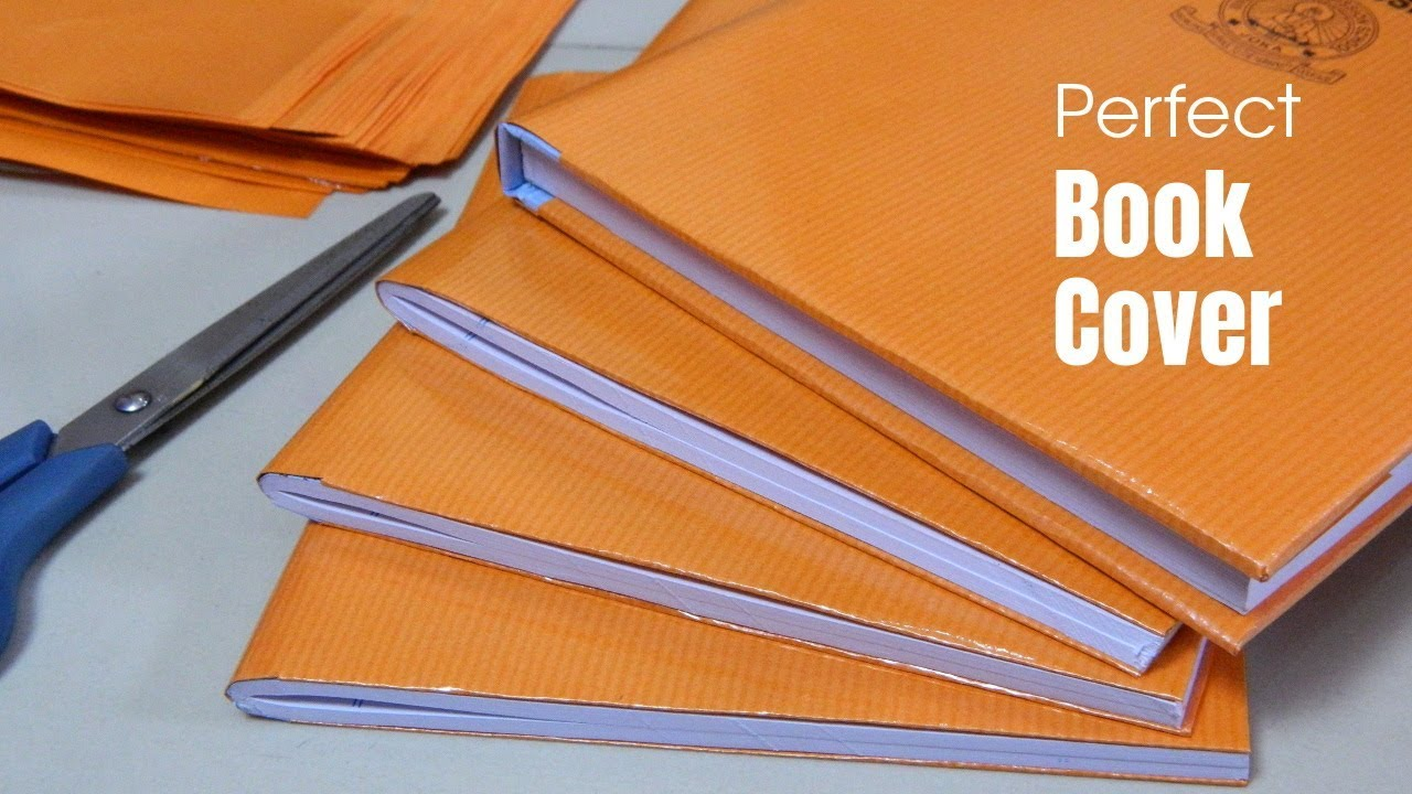 School Book Cover Paper : Diy brown paper covering perfect book cover learn to