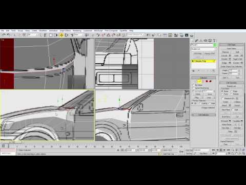Modeling a low poly car in under an hour