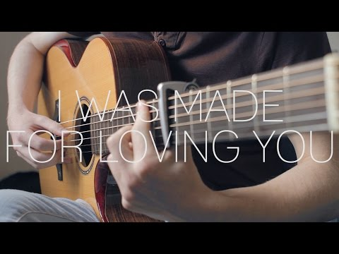 Tori Kelly ft. Ed Sheeran - I Was Made For Loving You - Fingerstyle Cover by James Bartholomew
