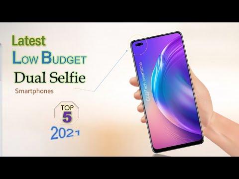 TOP 5 Low Budget Dual Selfie Camera Smartphones 2021 | Best Budget Dual Front Camera Phones 2021