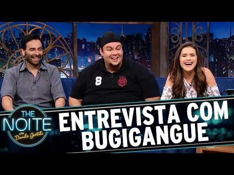Entrevista com o elenco de Bugigangue no Espaço  The Noite 070317