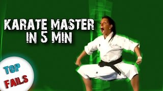 Как стать мастером каратэ за 5 минут ! Лучшие Приколы за Декабрь 2016 Часть 7 ||Top Fails||