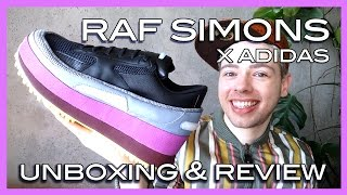 unboxing review Raf Simons x adidas