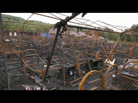 В Хабаровском крае число погибших при пожаре в палаточном лагере увеличилось до четырех.