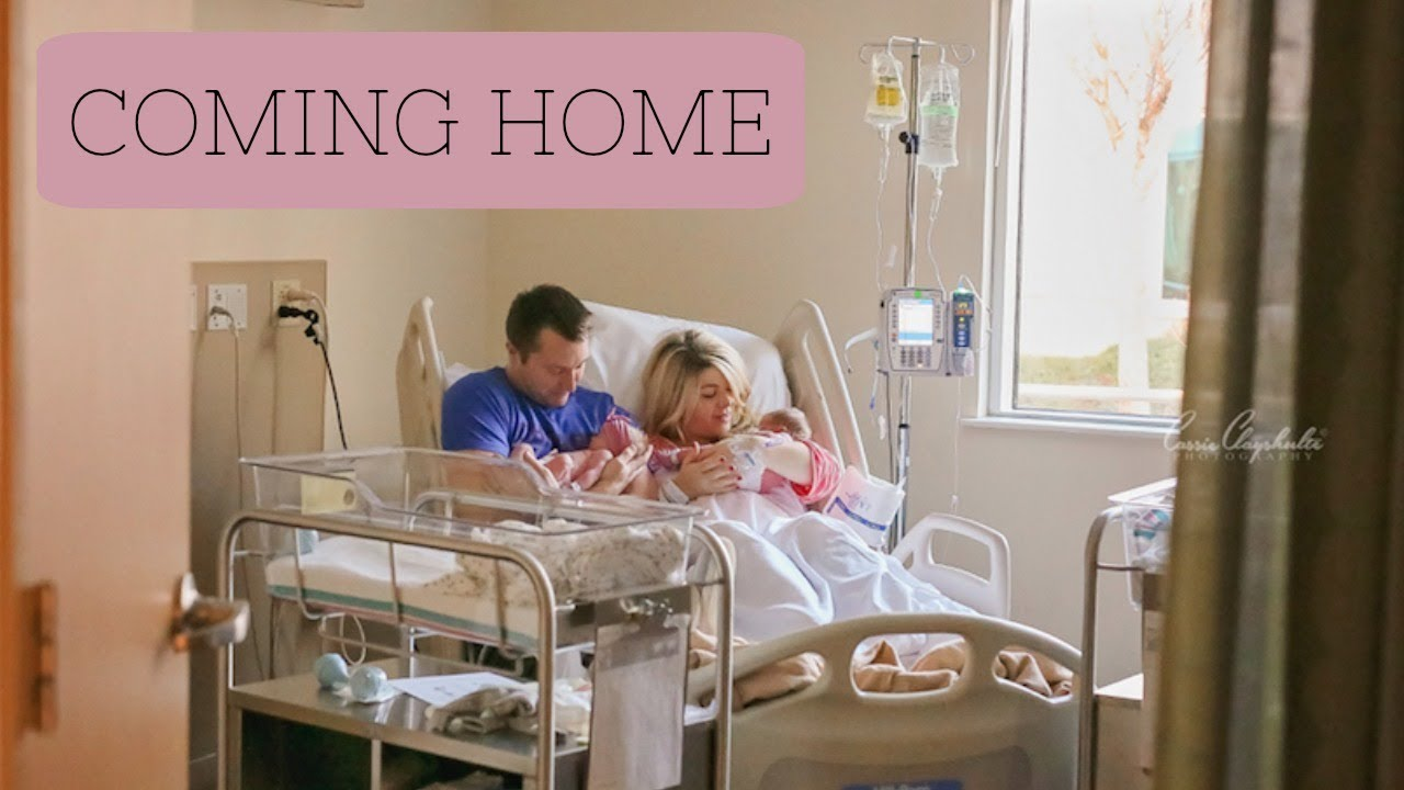 Download TWINS COMING HOME FROM THE HOSPITAL!