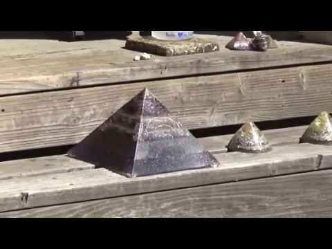 Powerful Orgone energy devices in action
