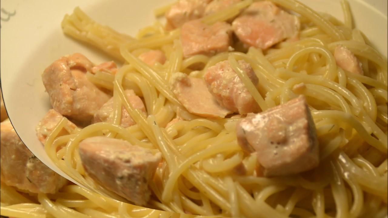 recette cookeo spaghettis saumon