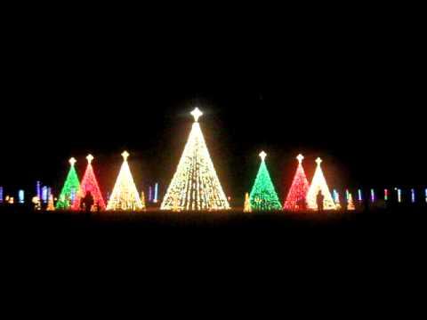 Christmas in the Park, Arnette Park, Fayetteville NC - YouTube