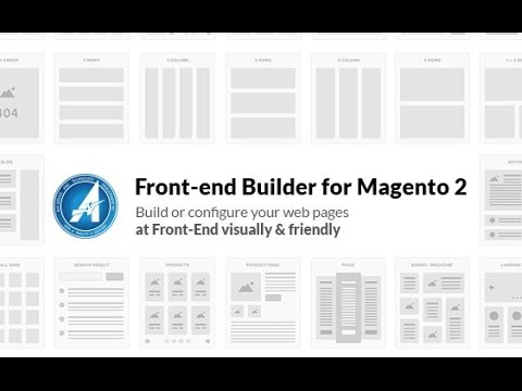 Front end Builder for Magento 2
